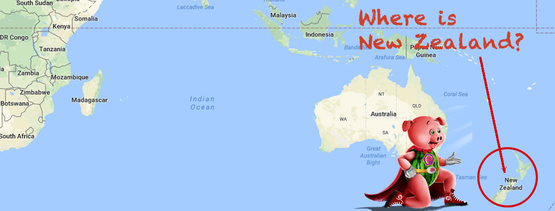 Where is New Zealand