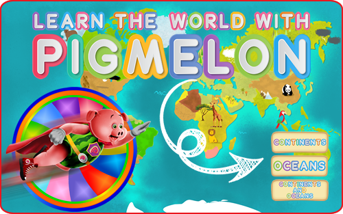 Learn The World with Pigmelon