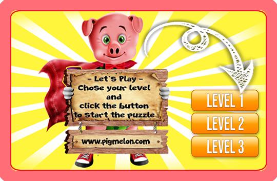 Piggy Jiggy Puzzle