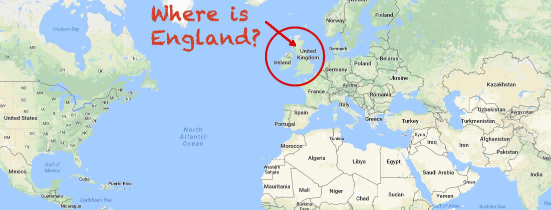 Where Is England