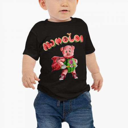 Pigmelon Essentials Baby Short Sleeve T-shirt Black