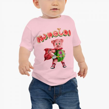 Pigmelon Essentials Baby Short Sleeve T-shirt Pink