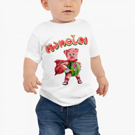 Pigmelon Essentials Baby Short Sleeve T-shirt White