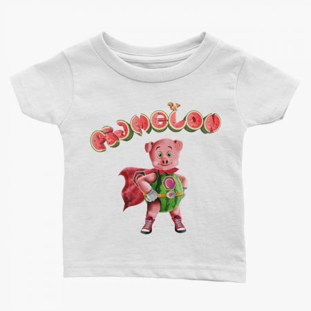 Pigmelon Essentials Infant Short Sleeve Tees White
