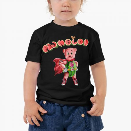 Pigmelon Essentials Toddles Short Sleeve Tees Black