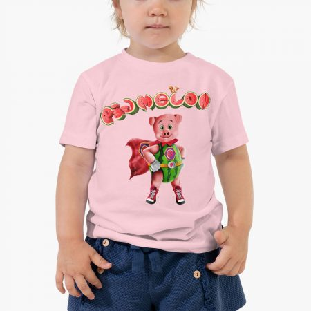 Pigmelon Essentials Toddles Short Sleeve Tees Columbia Pink