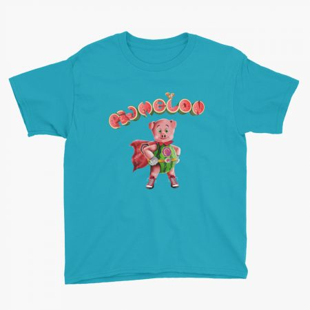 Pigmelon Essentials Youth Short Sleeve T-shirt Caribbean Blue