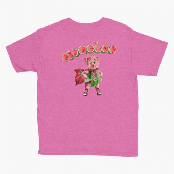 Pigmelon Essentials Youth Short Sleeve T-shirt Hot Pink