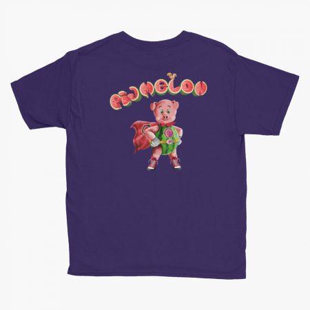 Pigmelon Essentials Youth Short Sleeve T-shirt Purple
