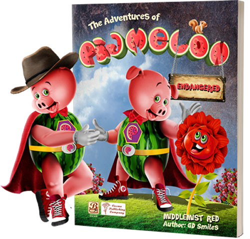 Pigmelon Books Middlemist Red