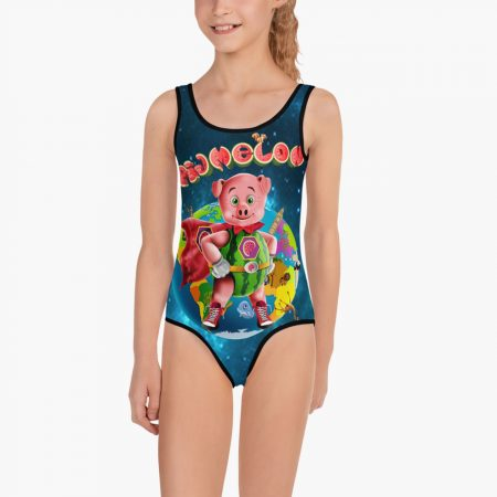 Pigmelon Earth Line Kids Swimsuit