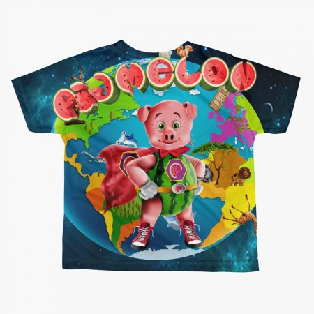 Pigmelon Earth Line Toddler Short Sleeve T-shirt