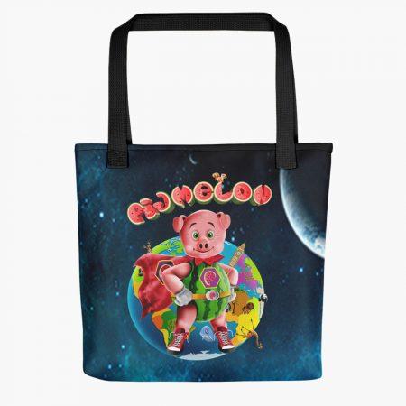 Pigmelon Earth Line Tote Bags