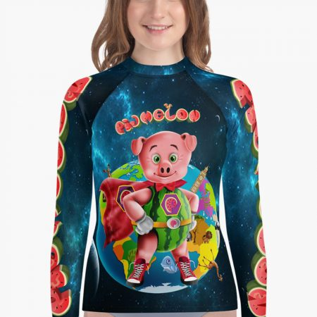 Pigmelon Earth Line Youth Long Sleeve T-shirt