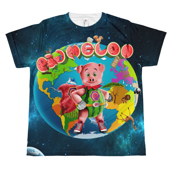 Pigmelon Earth Line Youth Short Sleeve T-shirt