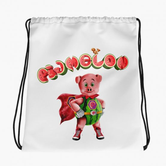 Pigmelon Essentials Drawstring Bag
