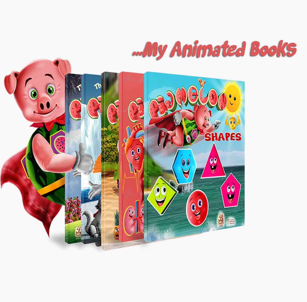 Pigmelon Animated Books