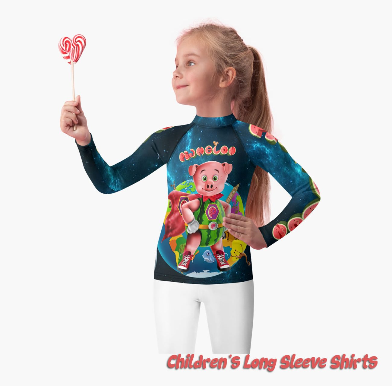 Pigmelon Children Long Sleeve Shirts