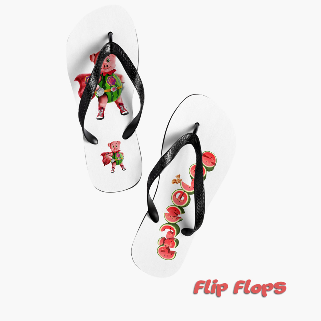 Pigmelon Flip Flops