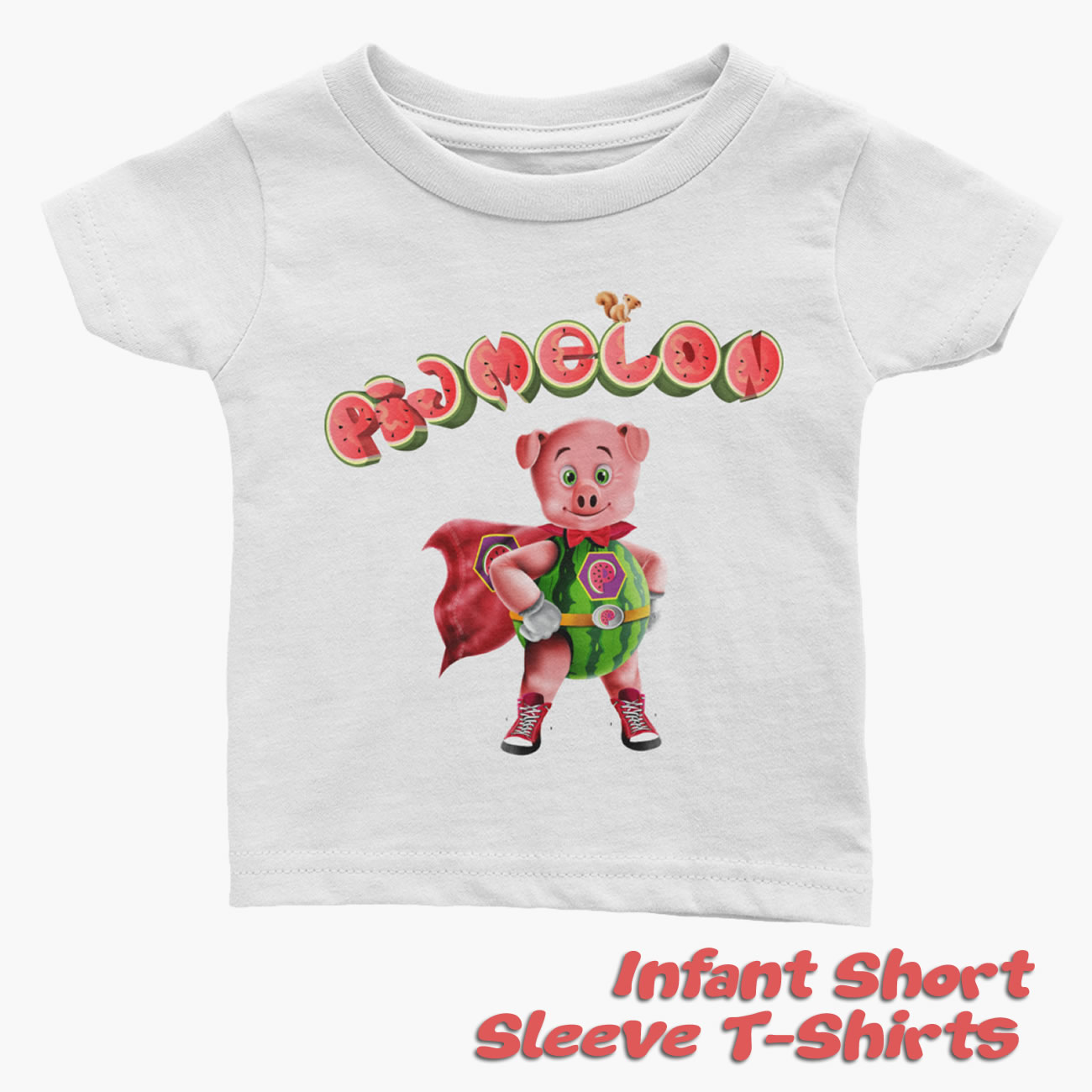 Pigmelon Infant Short Sleeve T-shirts