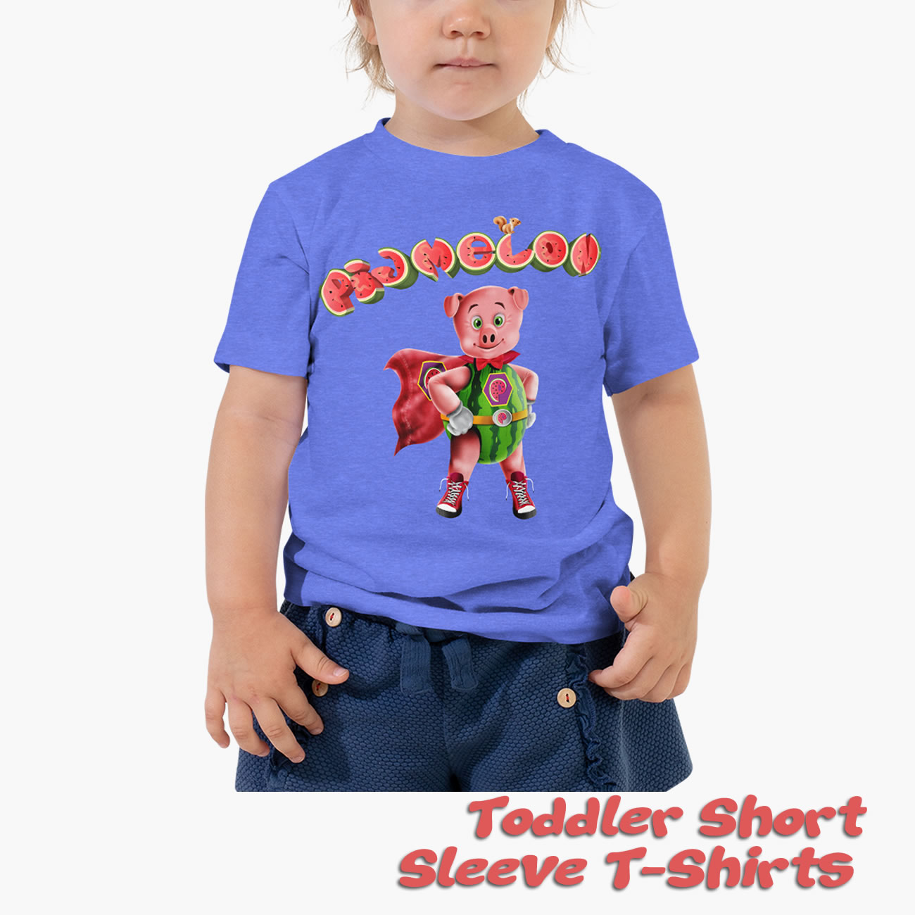 Pigmelon Toddler Short Sleeve T-shirts