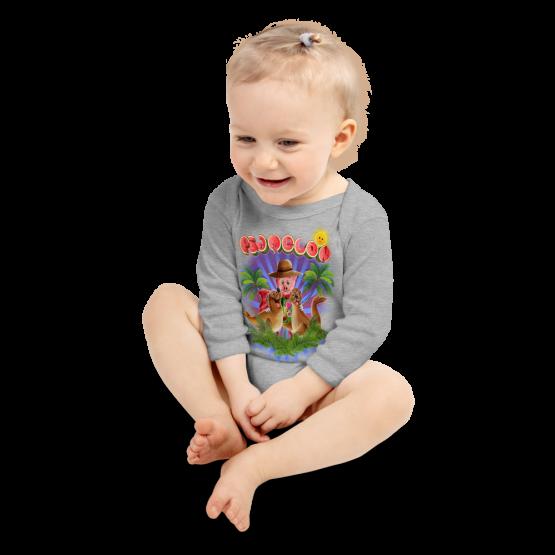 Pigmelon Long Sleeve Baby Onesie - Beautiful