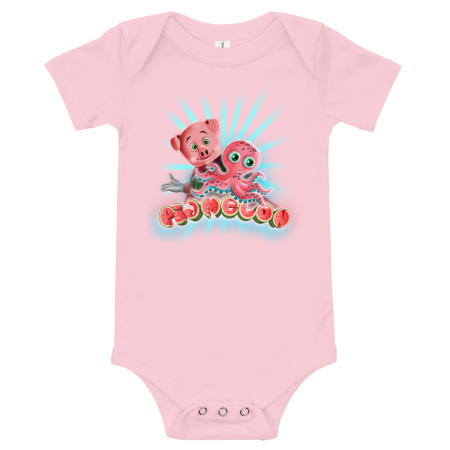 Pigmelon Short Sleeve Bodysuit for Babies - Acto
