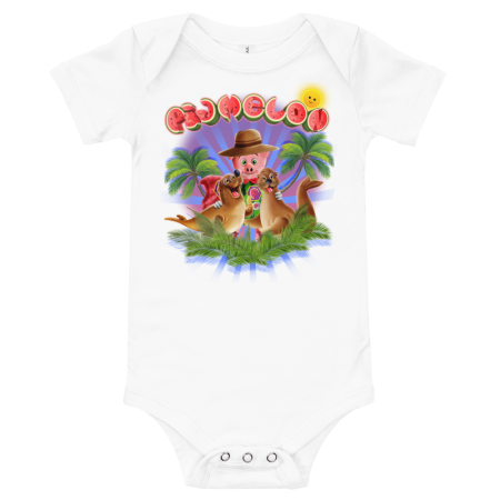 Pigmelon Short Sleeve Bodysuit for Babies - Beautiful