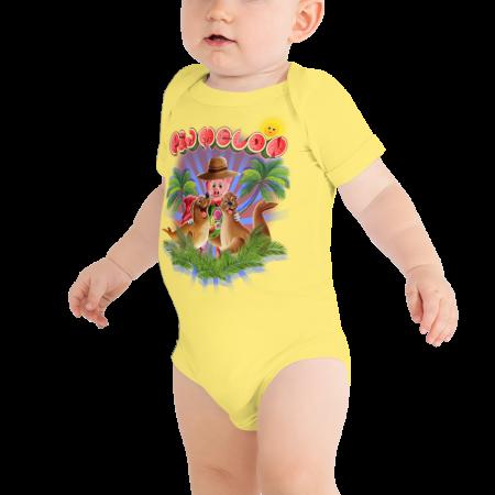 Pigmelon Short Sleeve Bodysuit for Babies - Beautiful