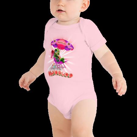 Pigmelon Short Sleeve Bodysuit for Babies - Cool