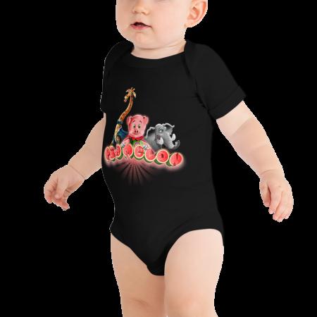 Pigmelon Short Sleeve Bodysuit for Babies - Friends