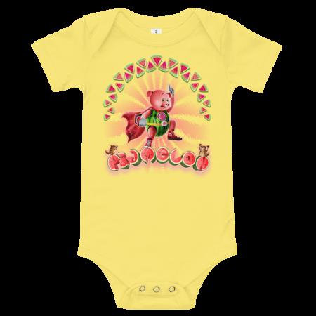Pigmelon Short Sleeve Bodysuit for Babies - Hero