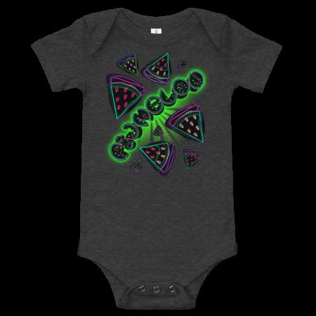 Pigmelon Short Sleeve Bodysuit for Babies - Slices
