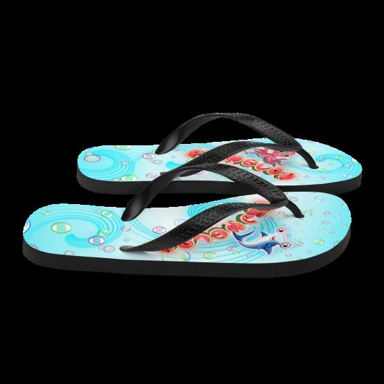 Pigmelon Youth Fancy Flip Flop Sandals - Blue