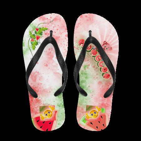 Pigmelon Youth Fancy Flip Flop Sandals - Red