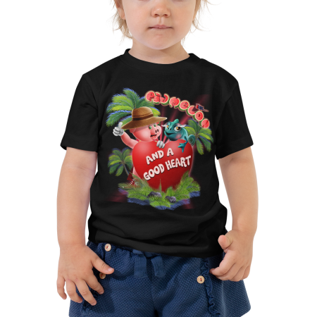 Pigmelon Funny Toddler Shirts and Cool Graphic Tees - Heart