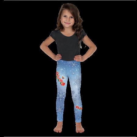 Pigmelon Kid and Toddler Leggings for Girls - Blue