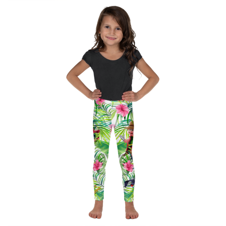 Pigmelon Kid and Toddler Leggings for Girls – Blue