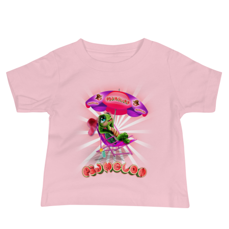Pigmelon Unique Graphic Short Sleeve T-Shirt for Babies - Cool