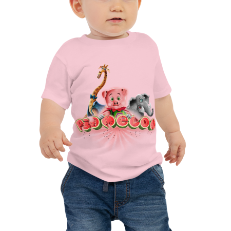 Pigmelon Unique Graphic Short Sleeve T-Shirt for Babies - Friends