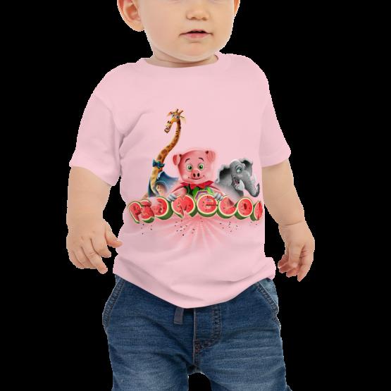 Pigmelon Unique Graphic Short Sleeve T-Shirt for Babies - Friends