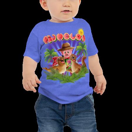 Pigmelon Unique Graphic Short Sleeve T-Shirt for Babies - Galapo