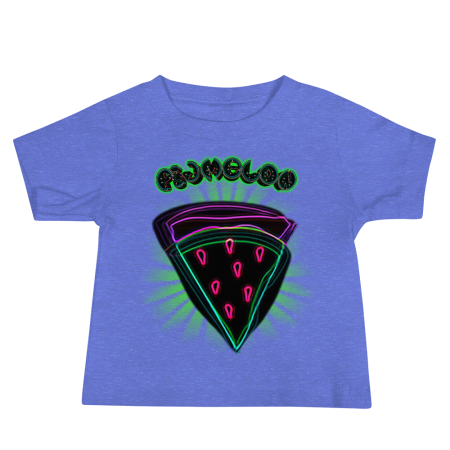 Pigmelon Unique Graphic Short Sleeve T-Shirt for Babies - Slice