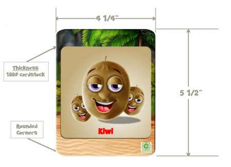 Pigmelon Flashcard Dimensions