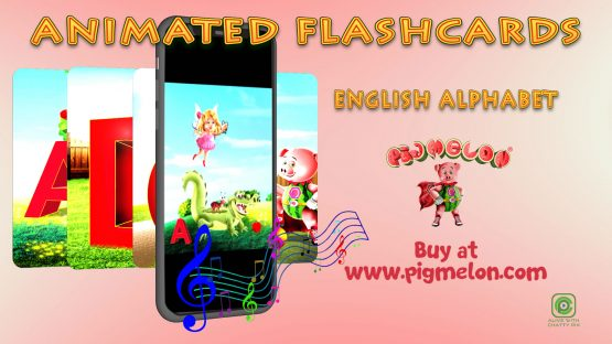 Animated Children's Flashcards - Alphabet